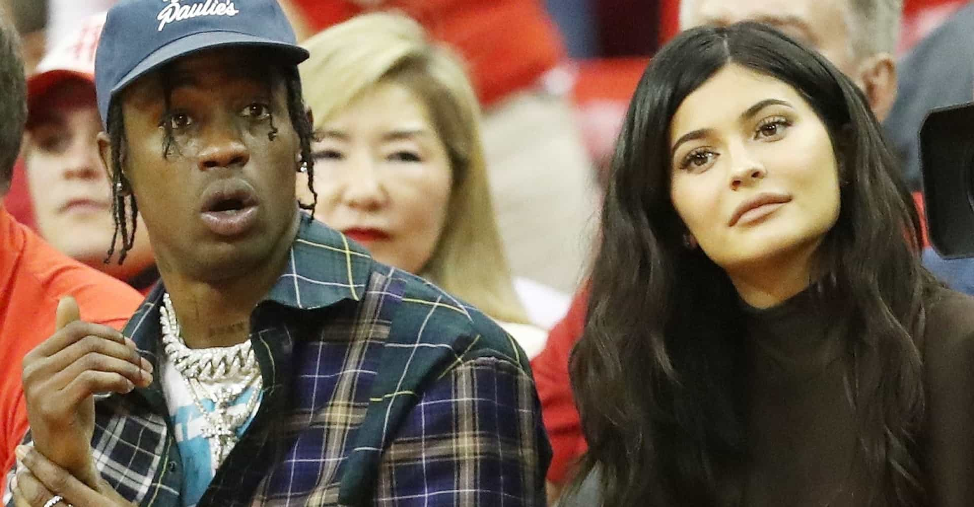 Travis Scott's alleged cheating photo was staged!