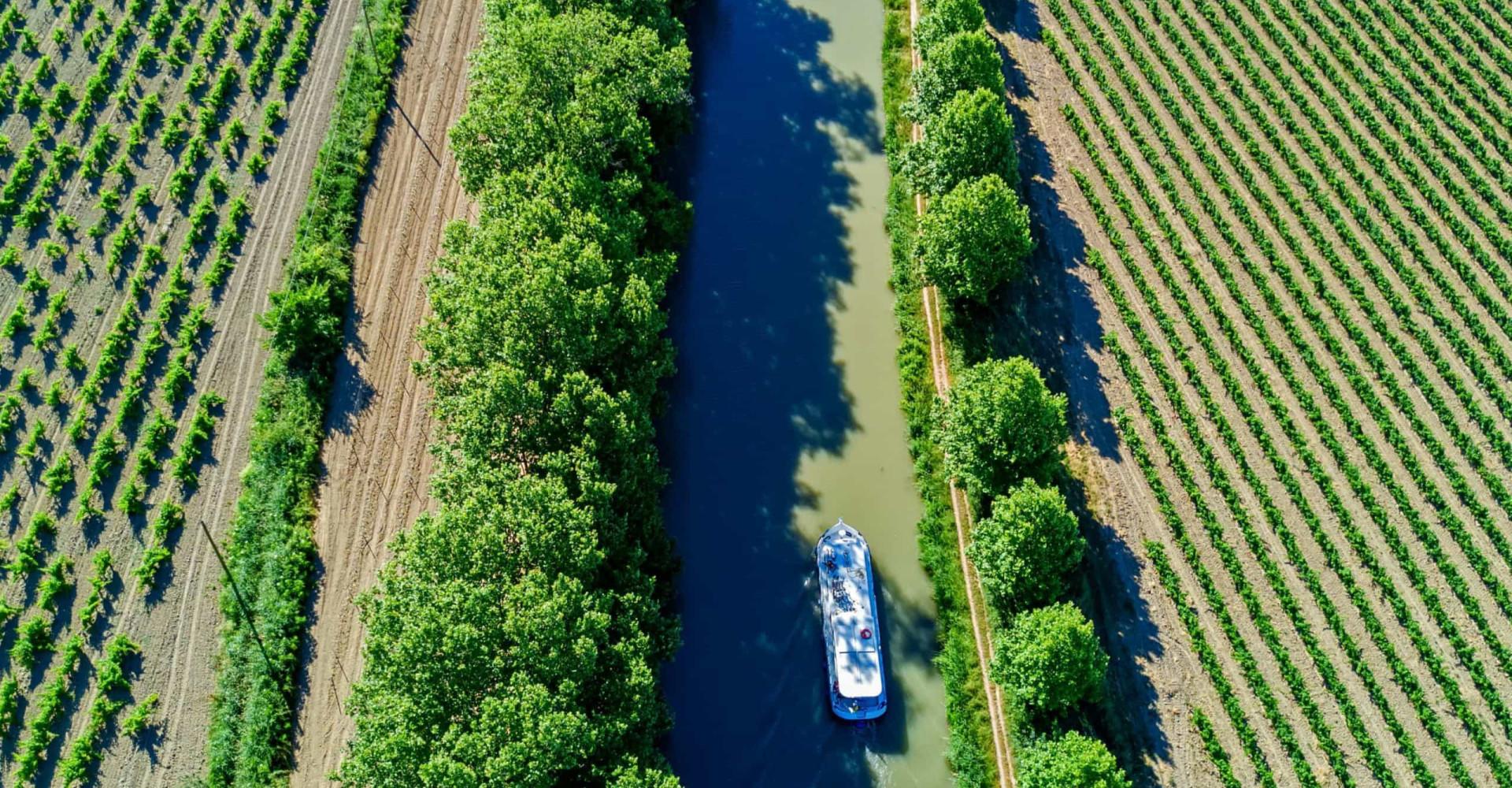 Purjehdi Ranskan Canal du Midillä!
