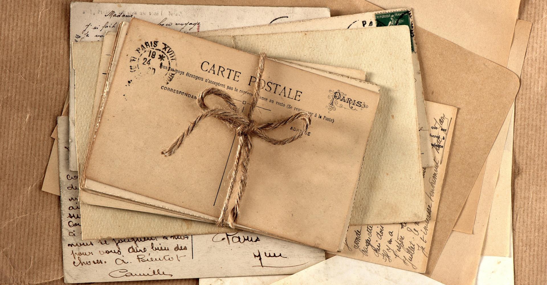 Liefdesbrief komt 77 jaar later aan bij bestemming