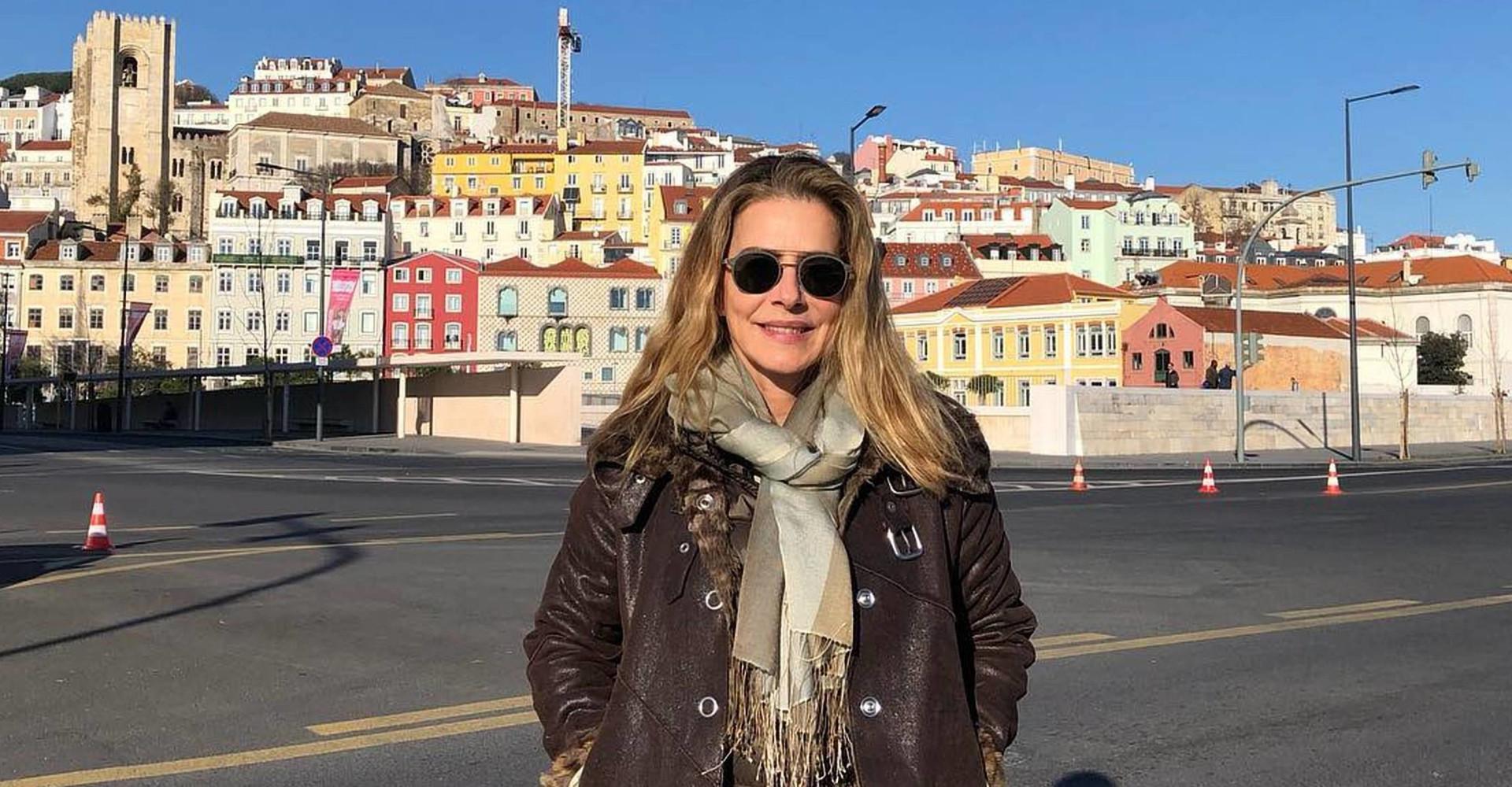 Maitê Proença volta a Portugal dez anos após vídeo polêmico