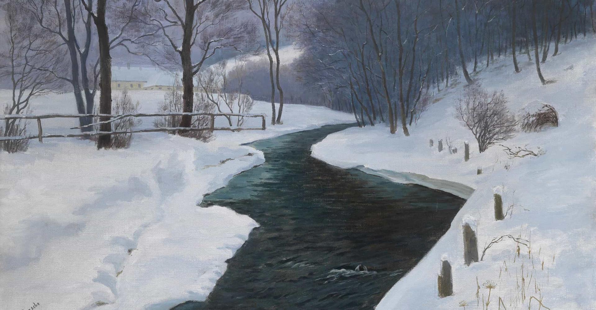 Vidunderlige malerier af vinterlandskaber