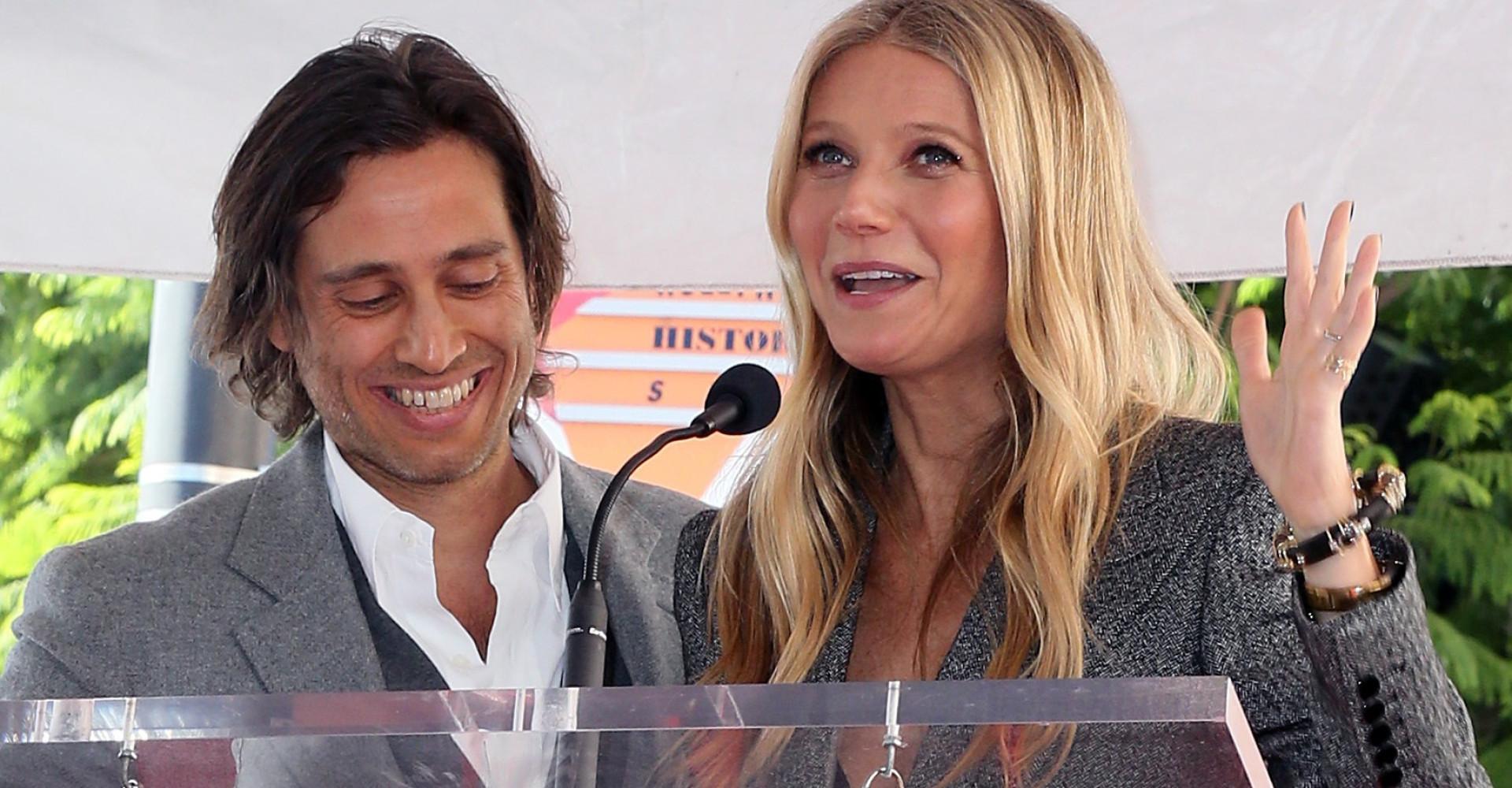 """Gwyneth Paltrow enjoys """"modern honeymoon"""" with new and ex-husband"""