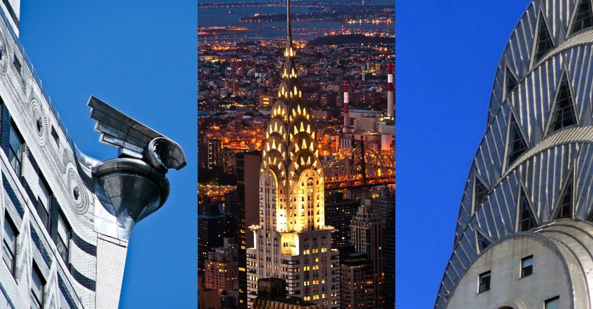 Hjulkapslet, ørner, og sol: bli kjent med Chrysler-bygningen