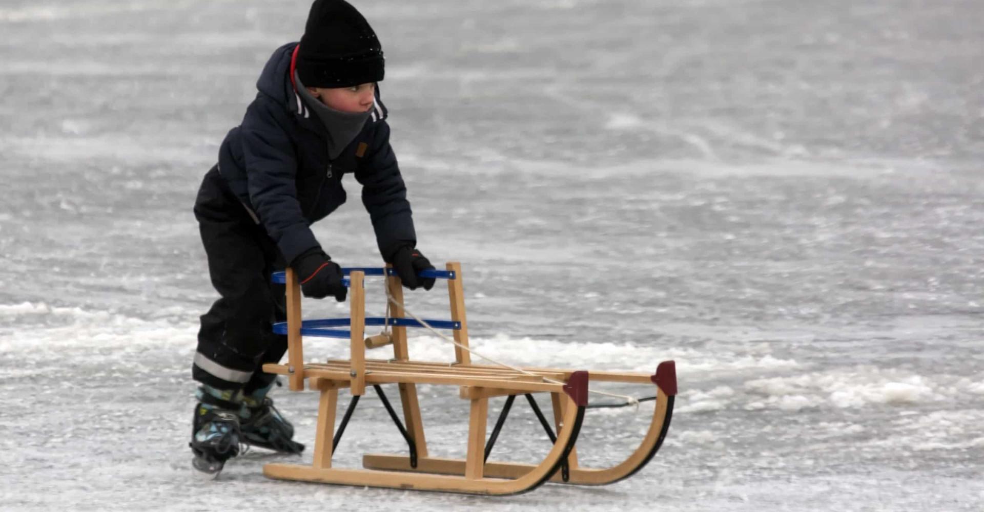 It giet oan: schaatsen op natuurijs!