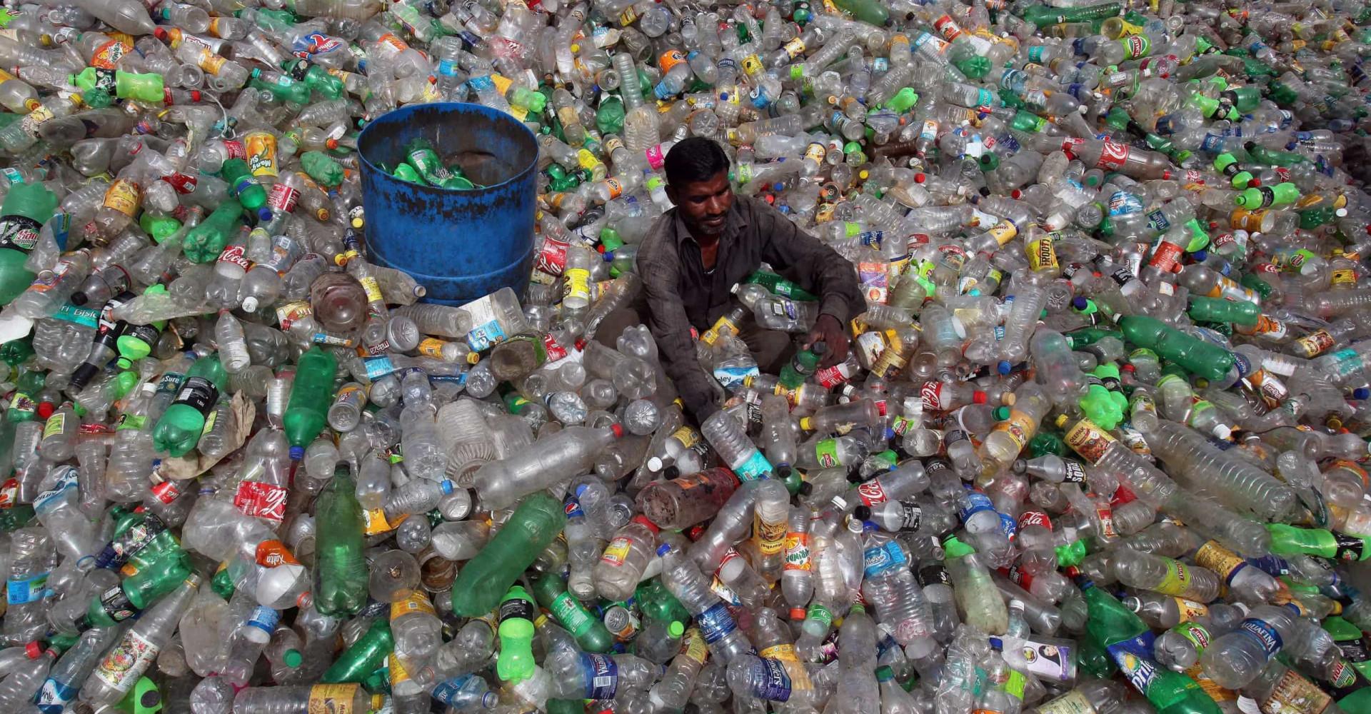 Choquantes images de la pollution autour du monde