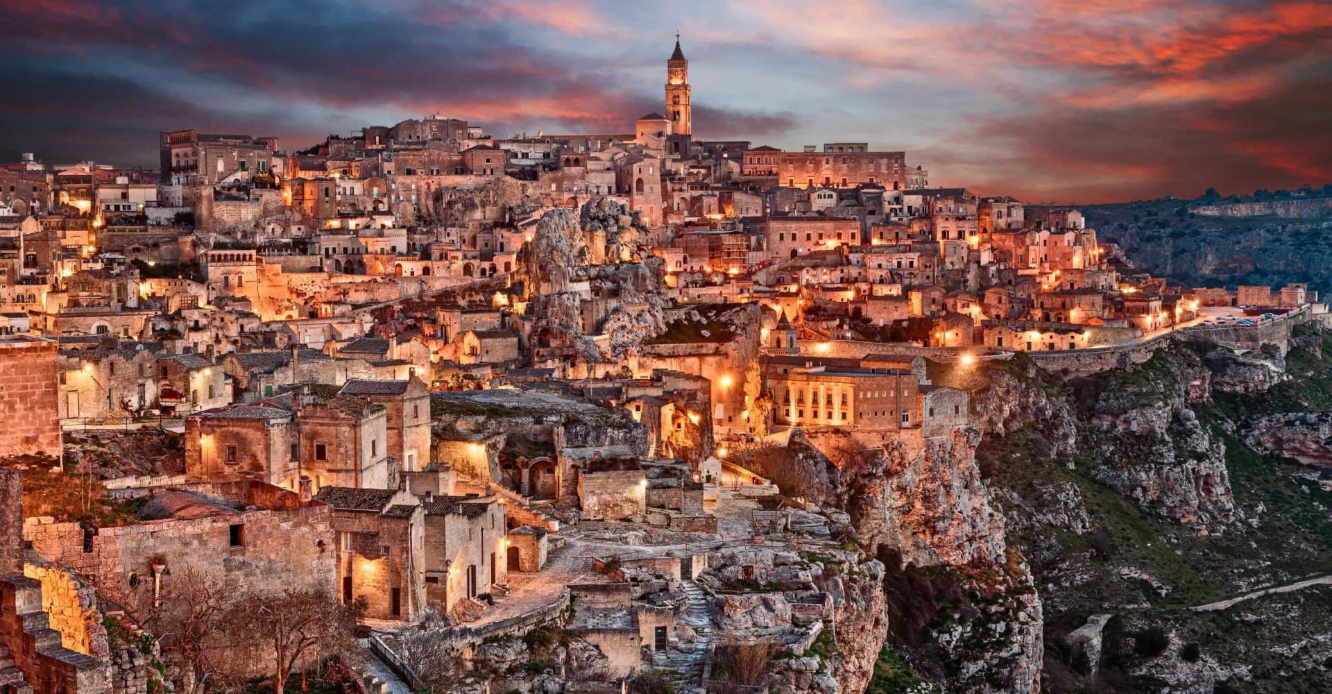 Matera, élue capitale européenne de la culture 2019