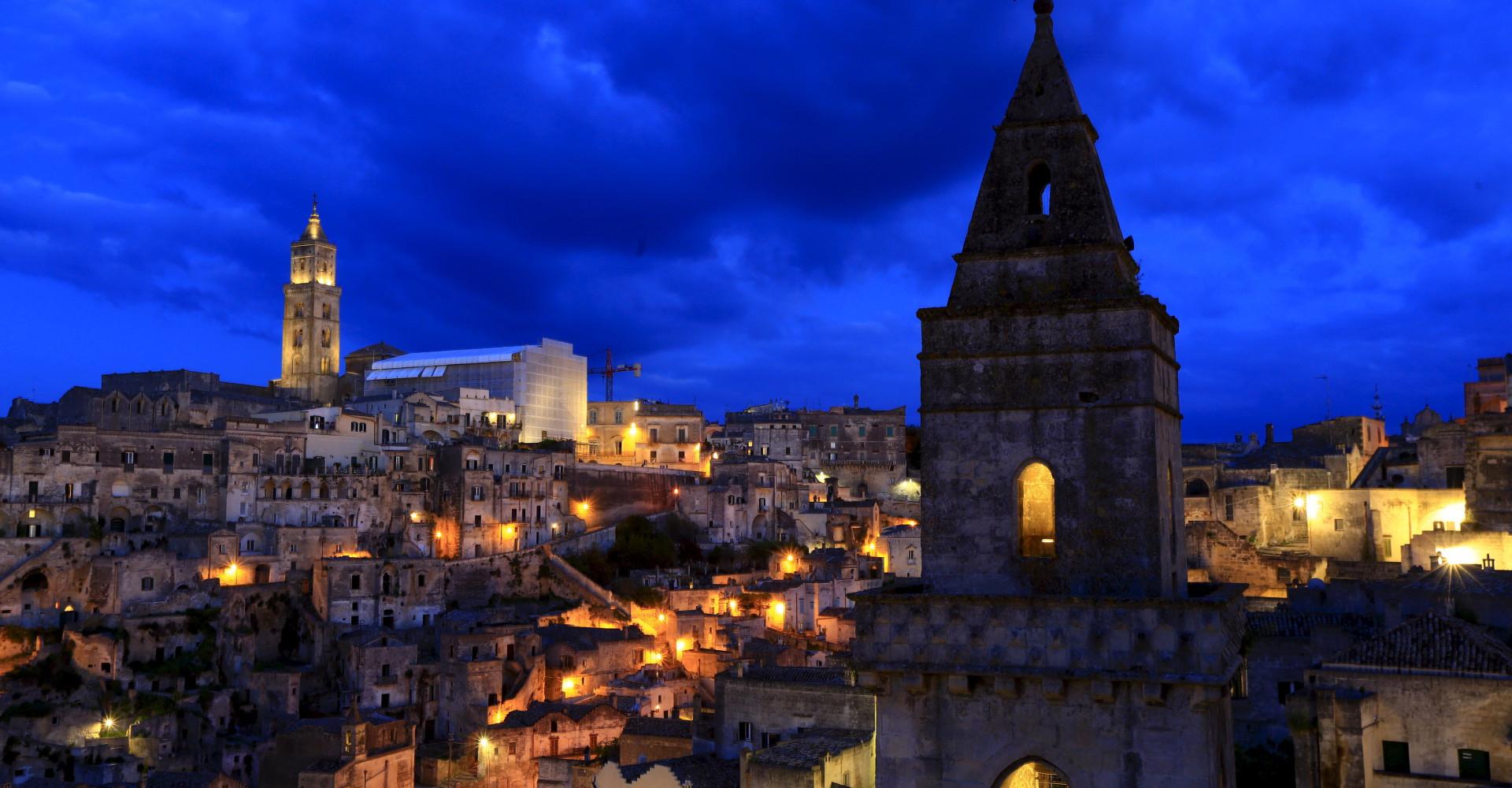 Kulturhauptstadt 2019: Matera und beeindruckende Felsarchitekturen in aller Welt