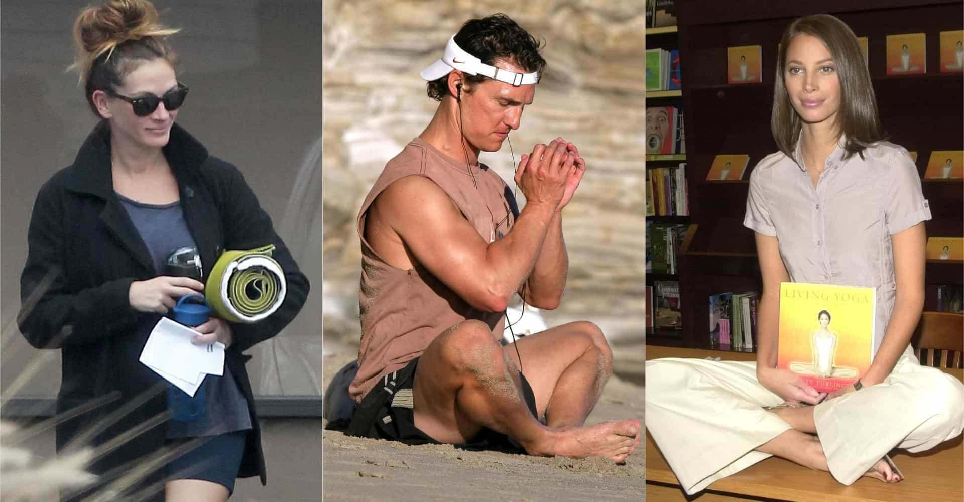 Celebs on yoga: all the benefits and why you should do it