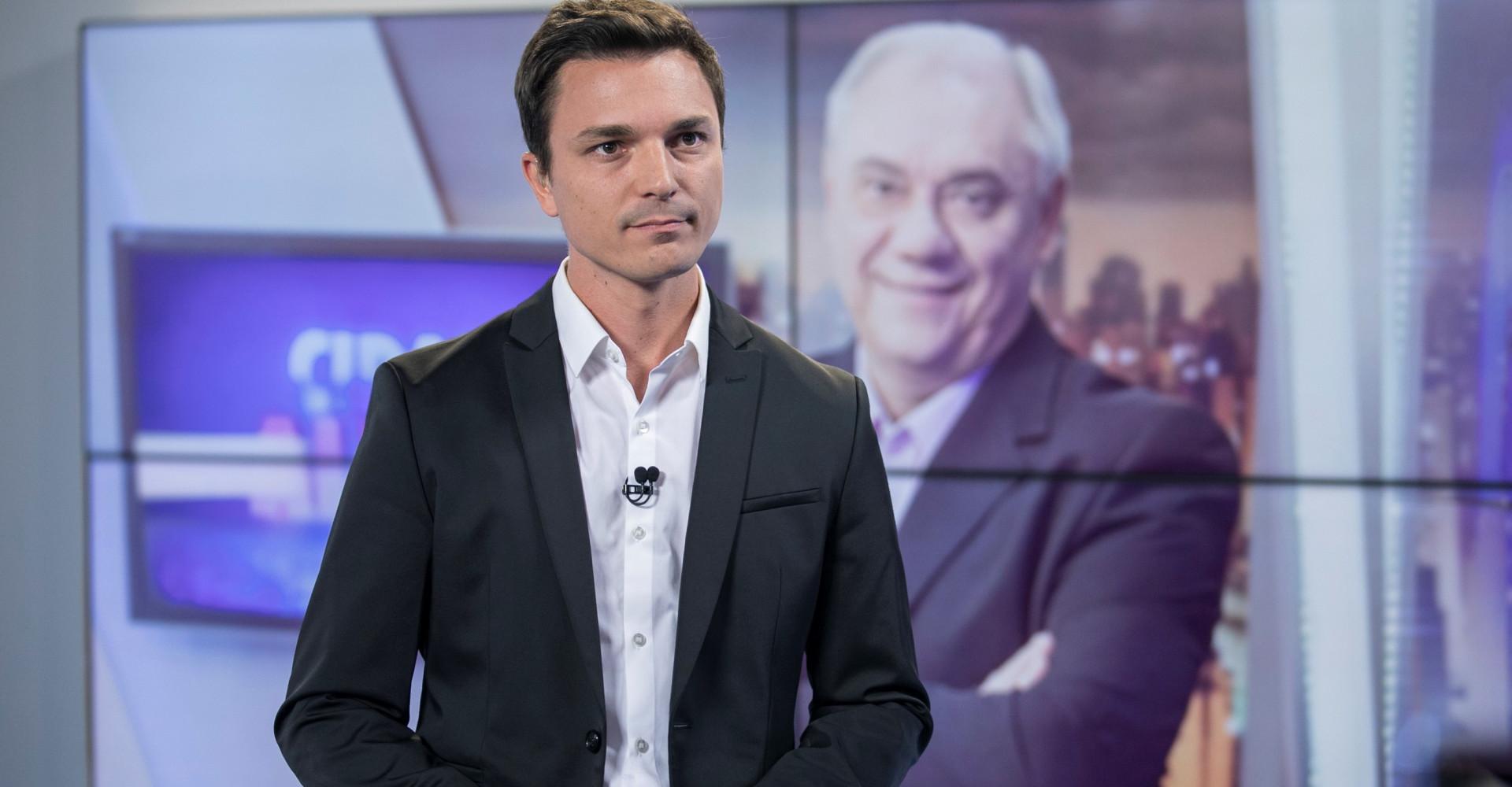 Filho de Marcelo Rezende estreia como apresentador na TV argentina