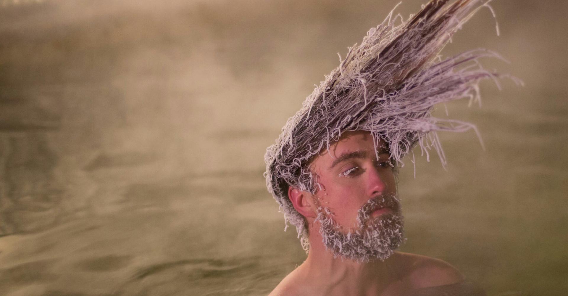 """Insolite: le concours international de """"cheveux glacés"""""""