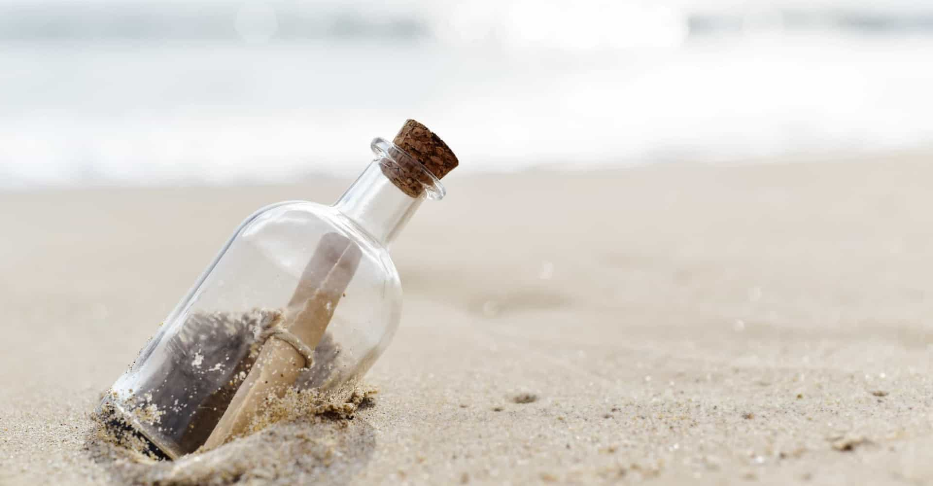 Fascinating message in a bottle discoveries