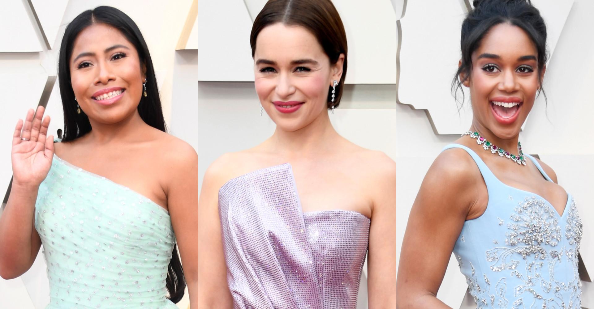 Söta pasteller: Den hetaste trenden vid 2019 års Oscarsutdelning