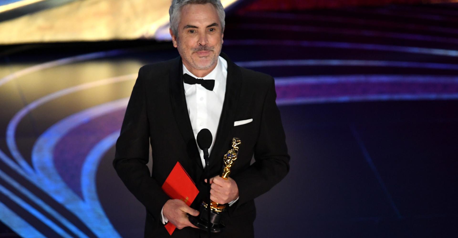 'Roma' se lleva tres premios Oscar, incluido el de mejor director