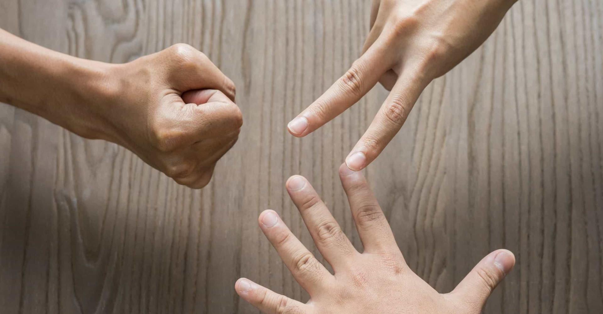 De ultieme strategie om 'steen, papier, schaar' te winnen