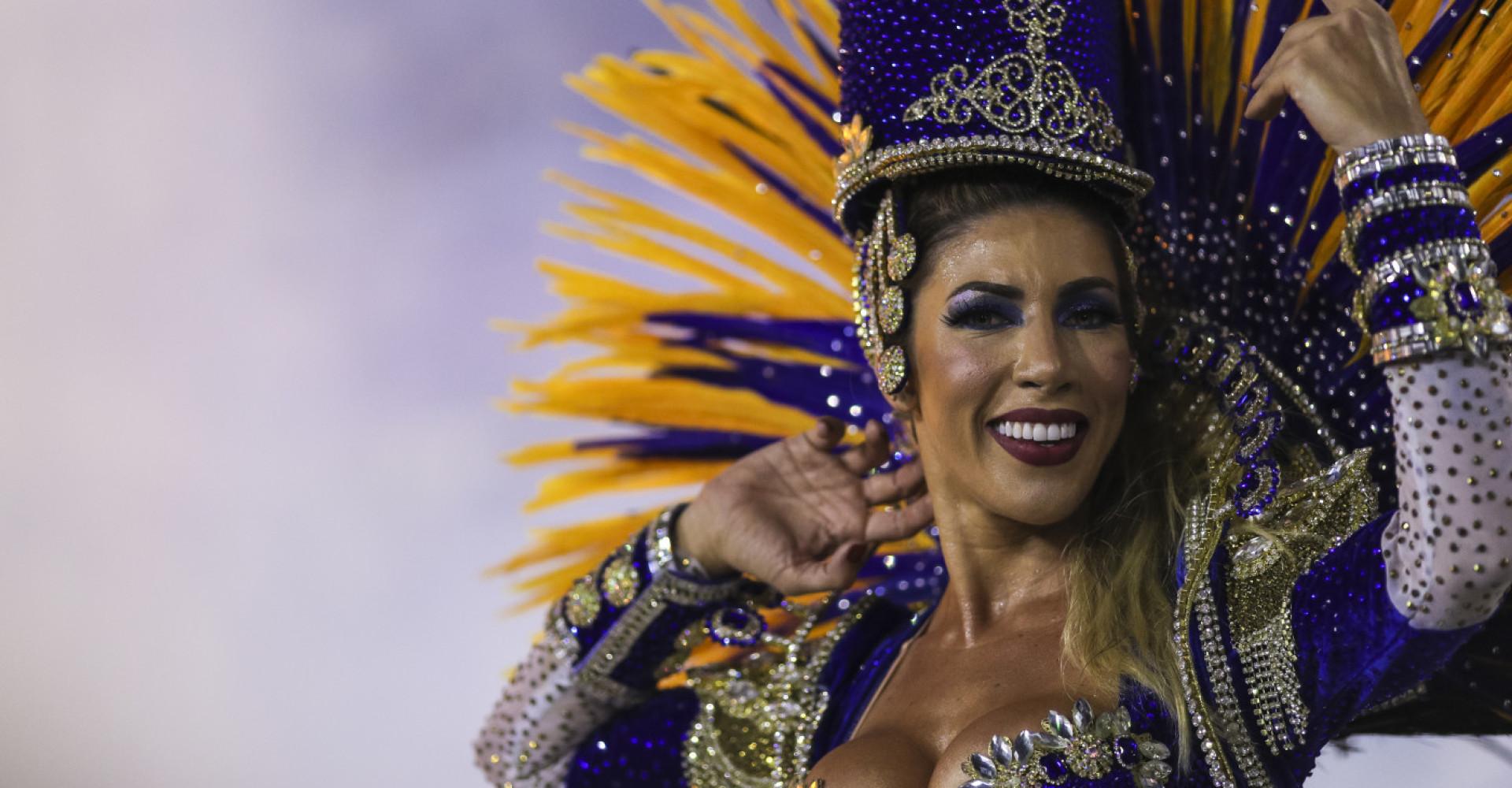 As musas do Carnaval do Brasil