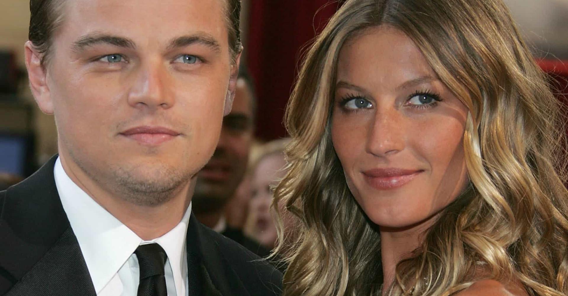 Até 25 anos: veja o tipo de mulher que atrai Leonardo DiCaprio