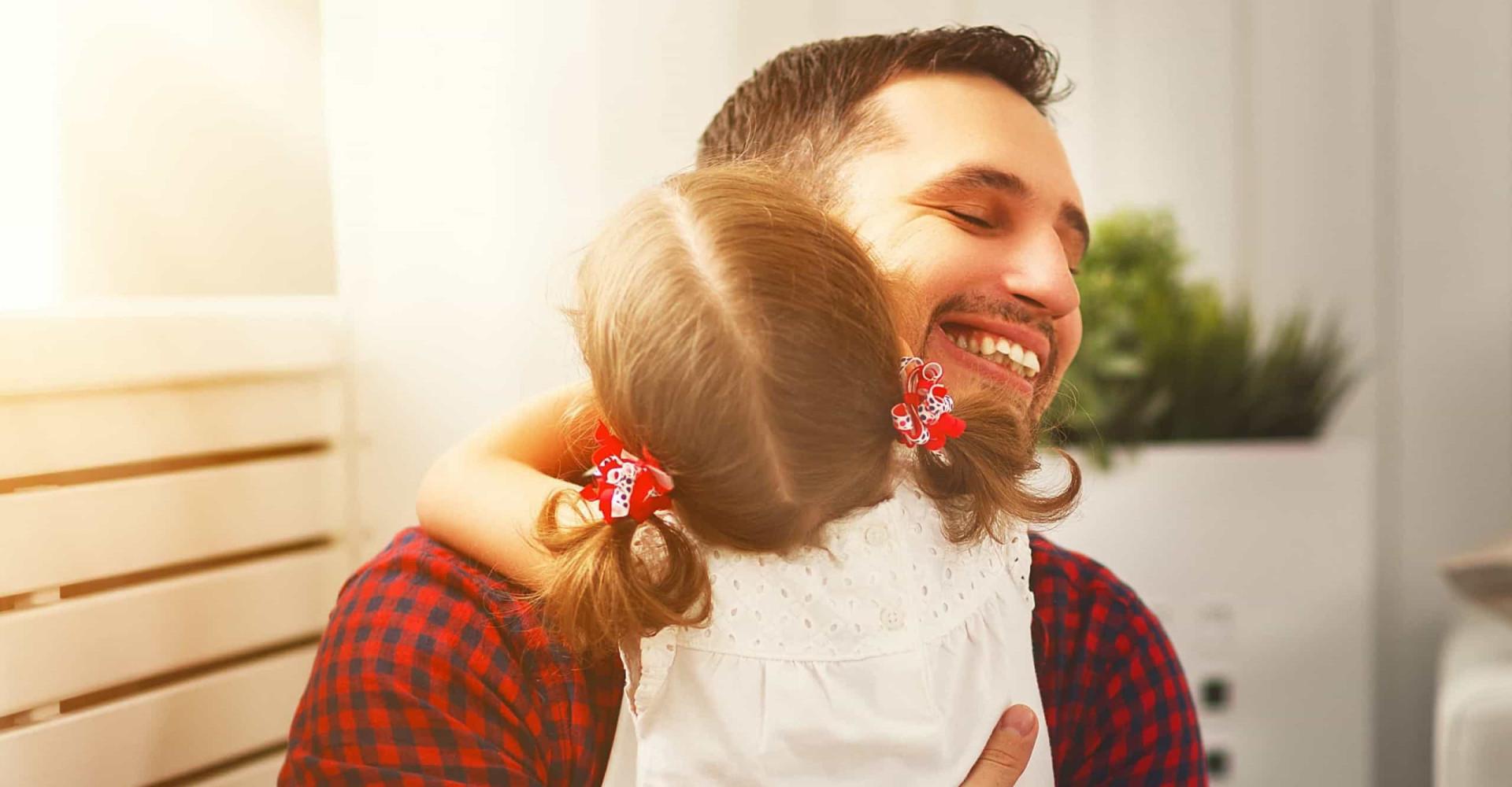 Vaders zijn gelukkiger dan moeders