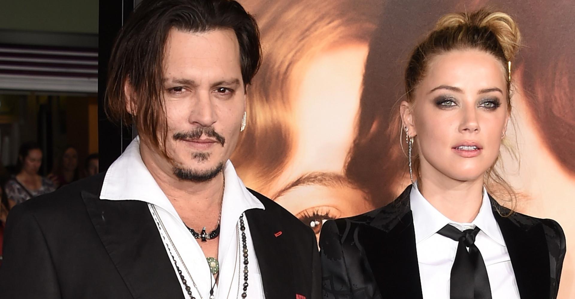 Johnny Depp afirma em processo que foi agredido por Amber Heard