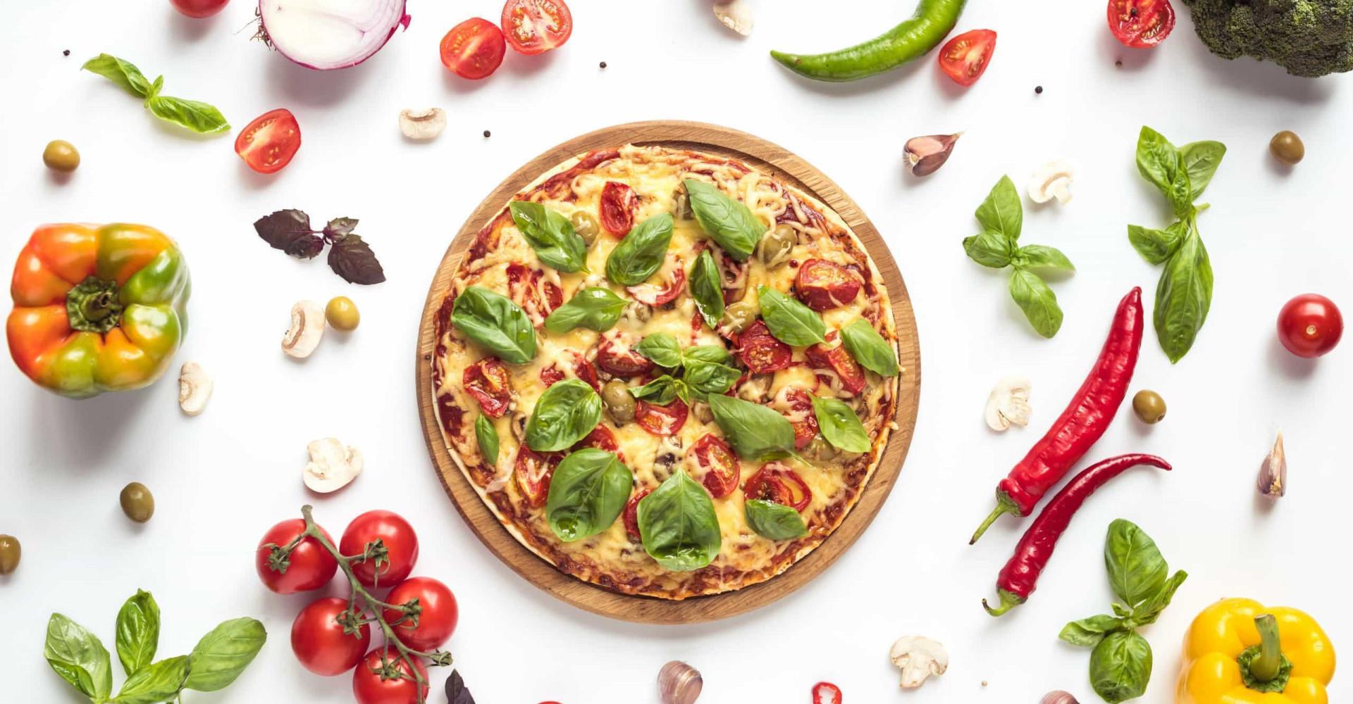 Zo maak je zelf een gezonde pizza