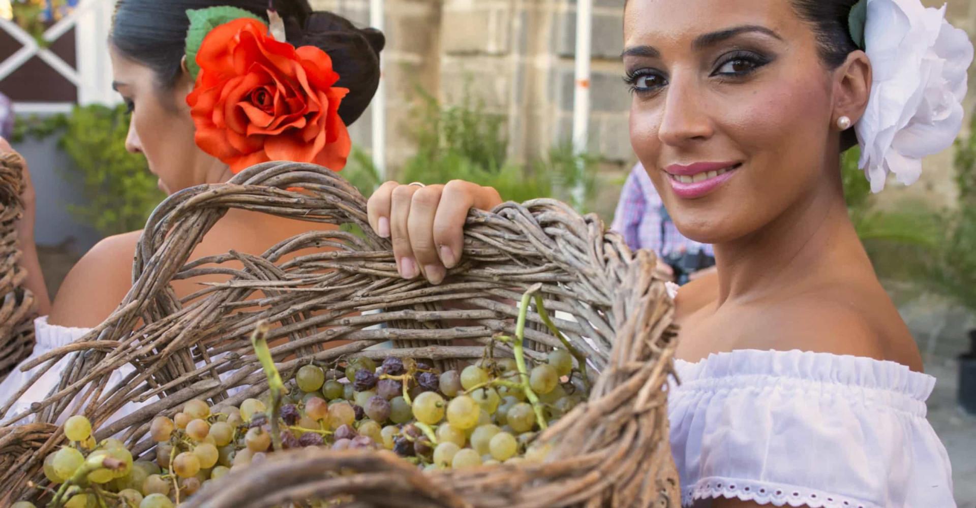 Espanjan lumoavaa sherryaluetta tutkimassa