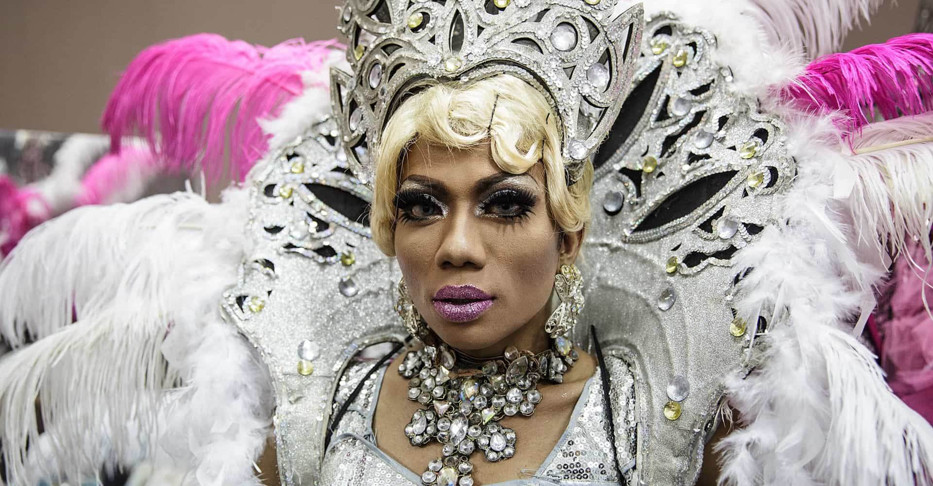 Life is a cabaret for Bali's drag queens