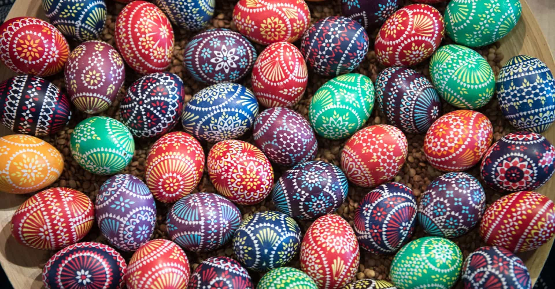 Exquisite Easter eggs from around the world