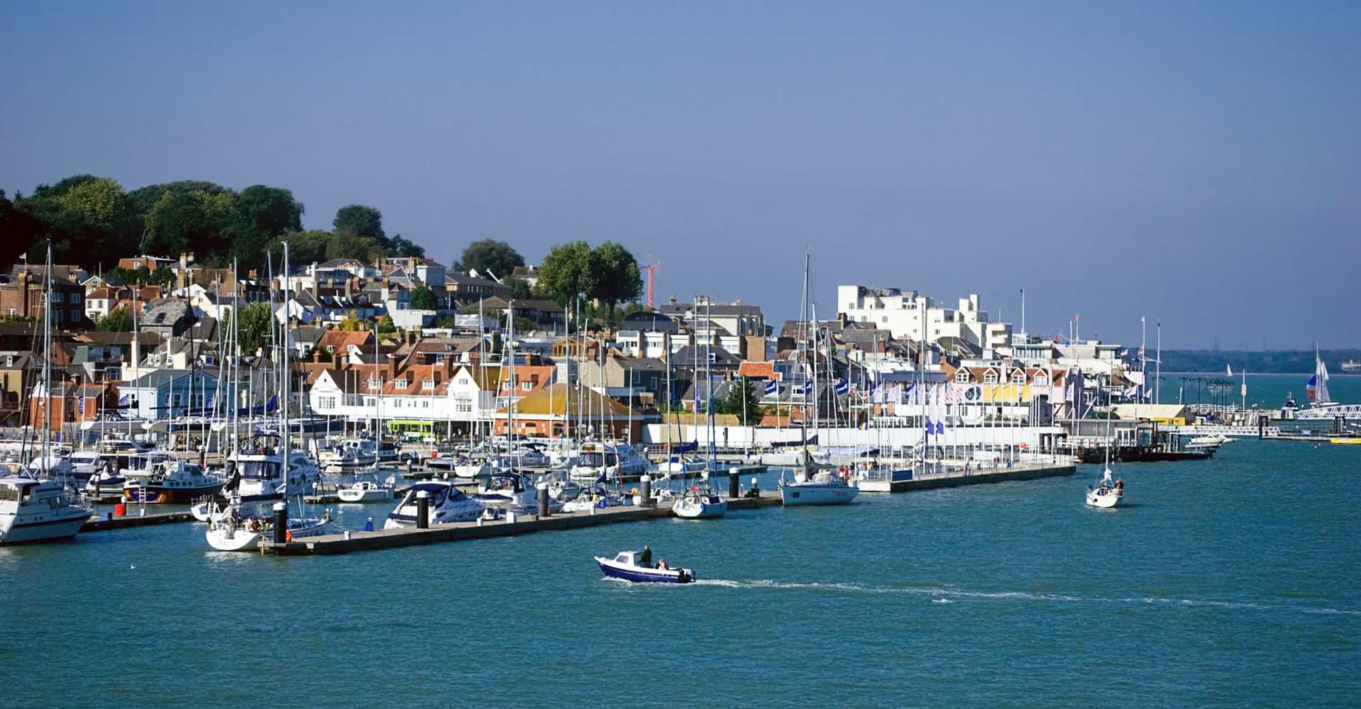 Larguez les amarres sur l'Île de Wight