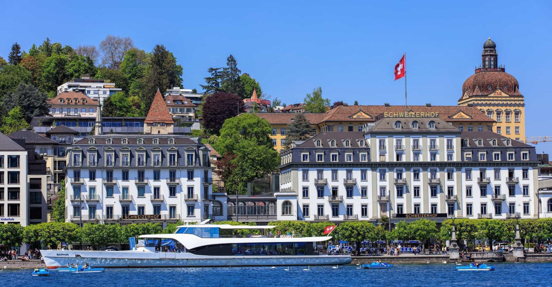 Verdens mest attraktive hotell og ferieanlegg ved innsjøer