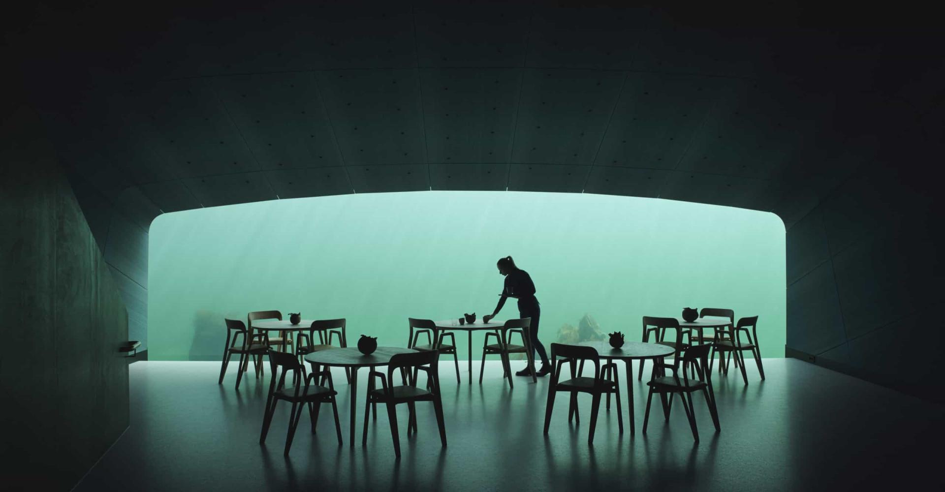 Conheça o primeiro restaurante subaquático da Europa