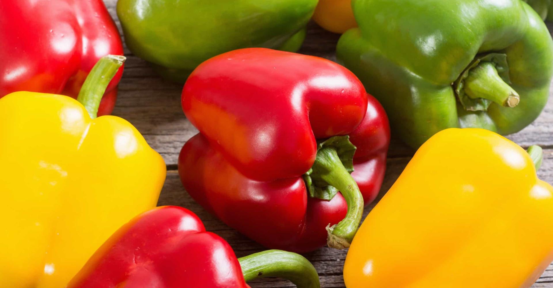 Paprika's verschillen niet alleen van kleur
