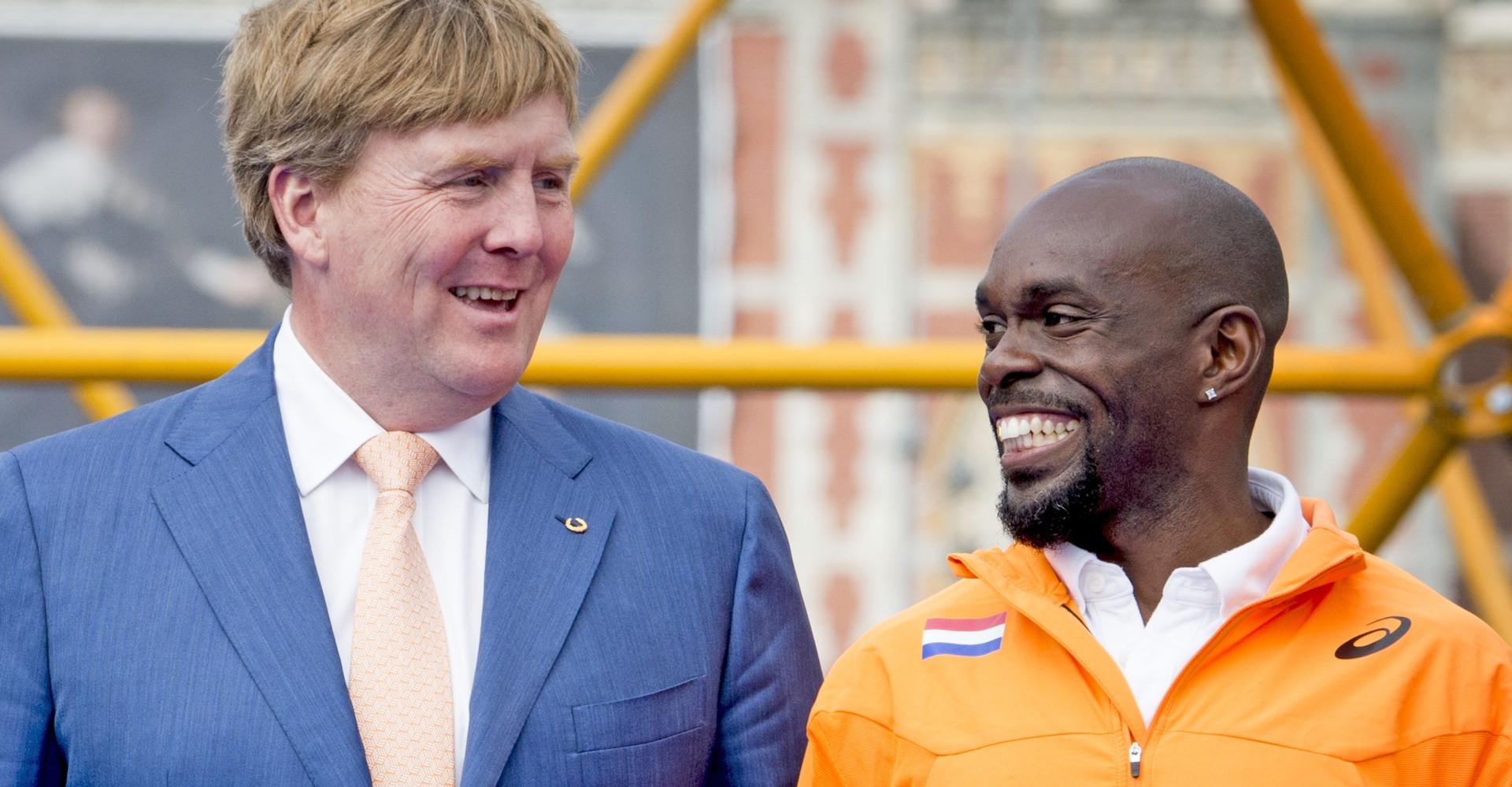 Churandy Martina: de vrolijkste sporter van Nederland