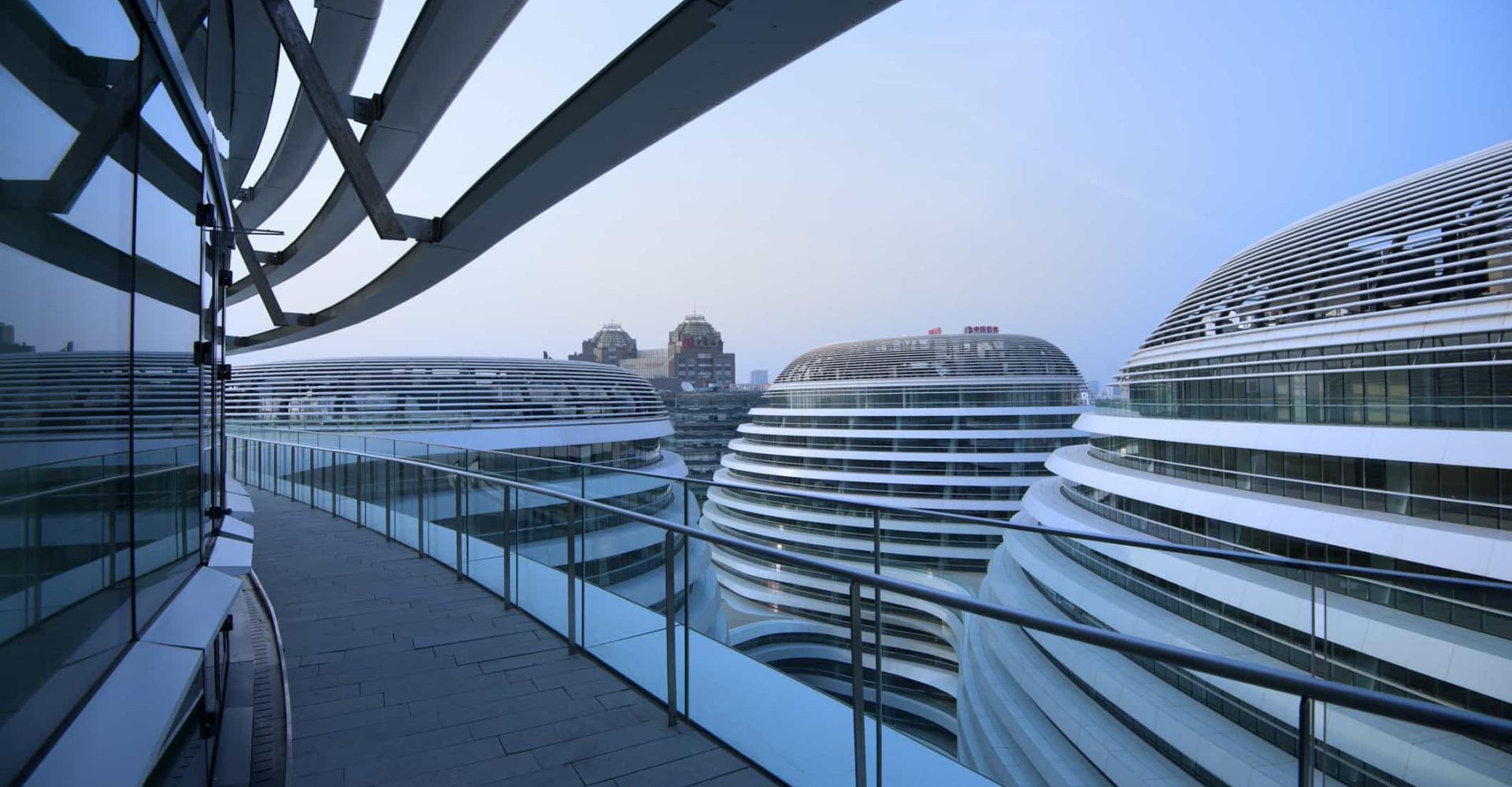 Time travel through the futuristic architecture of Zaha Hadid