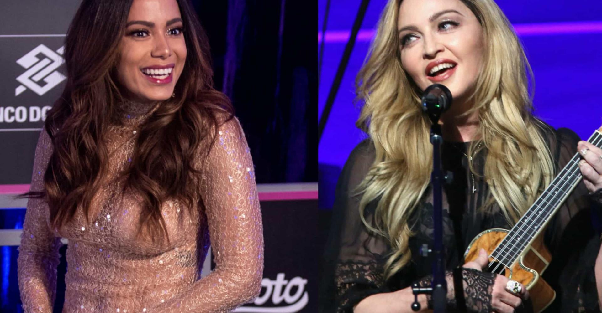 Parceria entre Anitta e Madonna é funk de autoria de cearense; saiba mais!