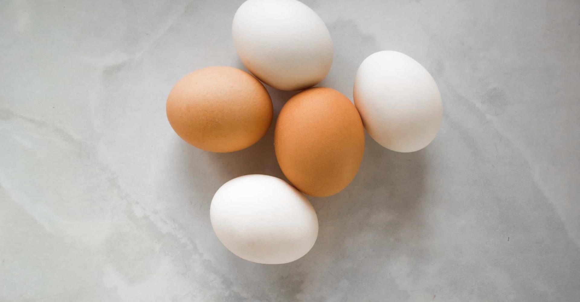 Dus dit is het verschil tussen bruine en witte eieren