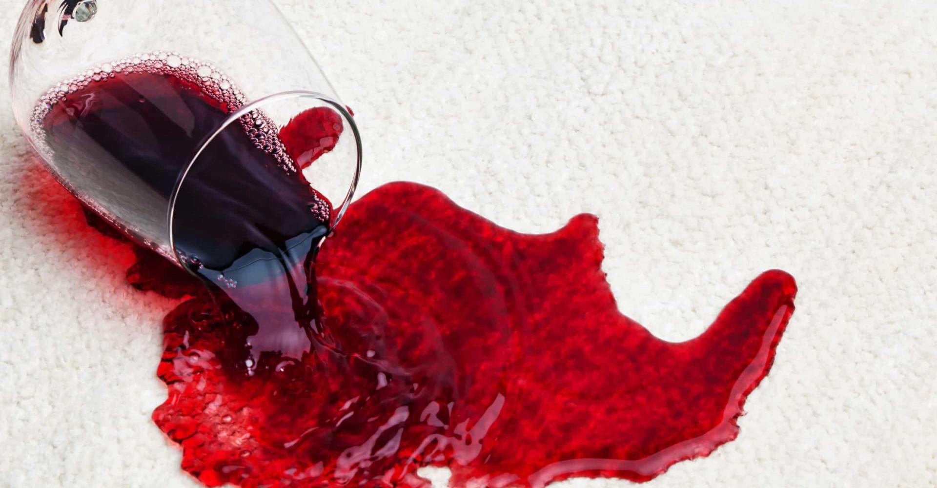 De beste verdwijntruc voor een rode wijnvlek