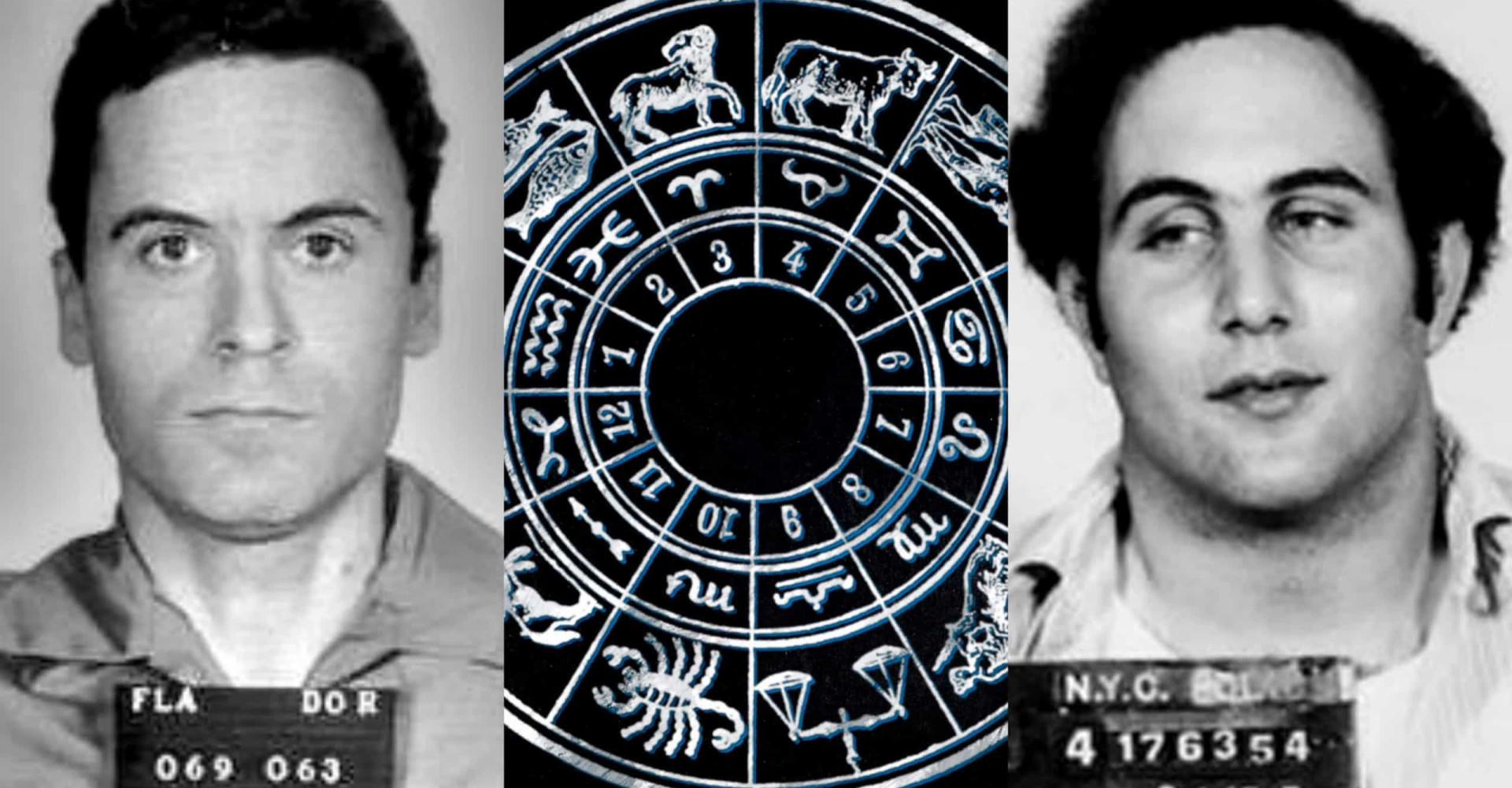 Maailman pahamaineisimpien sarjamurhaajien horoskooppimerkit