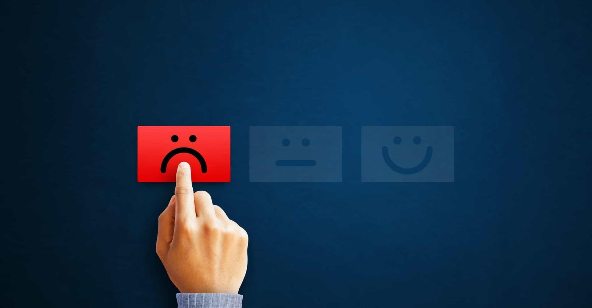 Waarom negativiteit meer invloed op ons heeft dan positiviteit