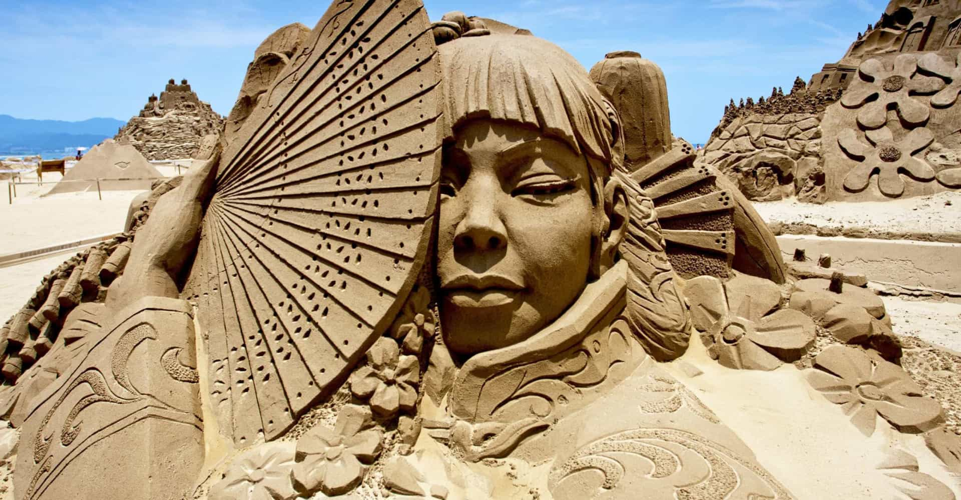 Sand sculptures to inspire the artist in you