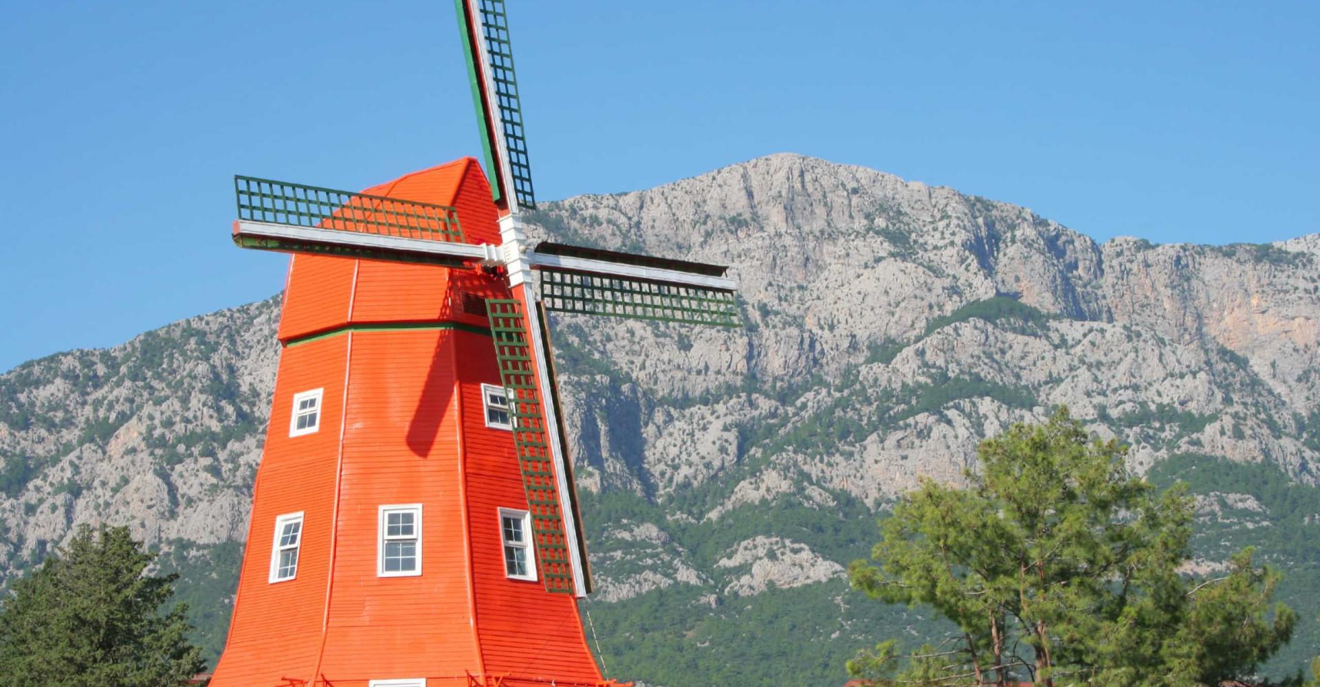In deze landen is de Hollandse windmolen nagemaakt
