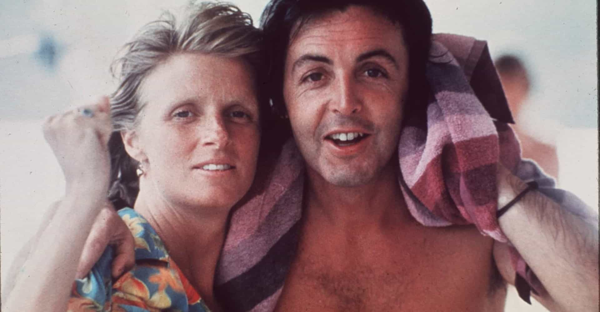 Fascinating photos of Linda and Paul McCartney