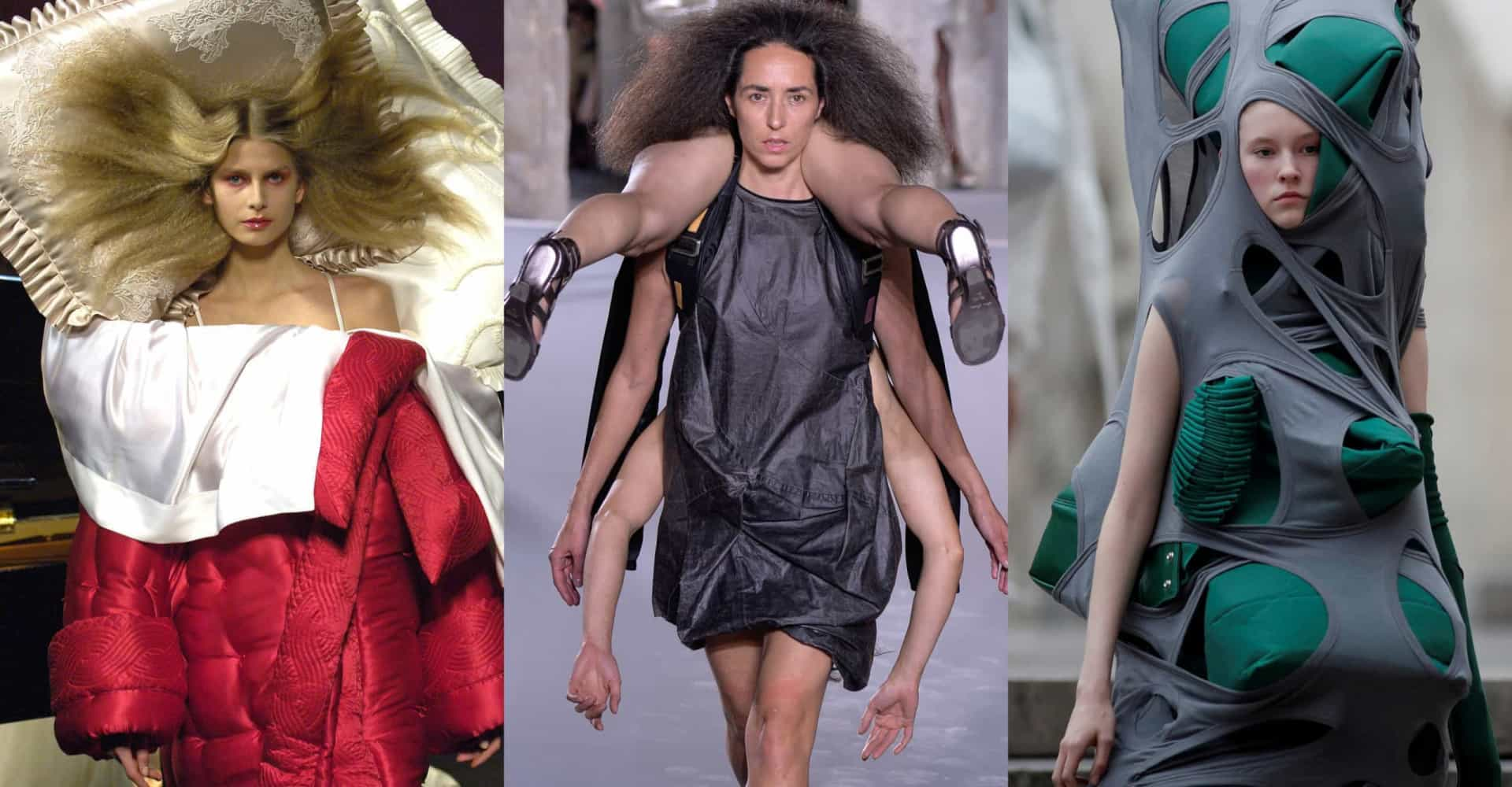 Strangest fashion to ever hit the runways
