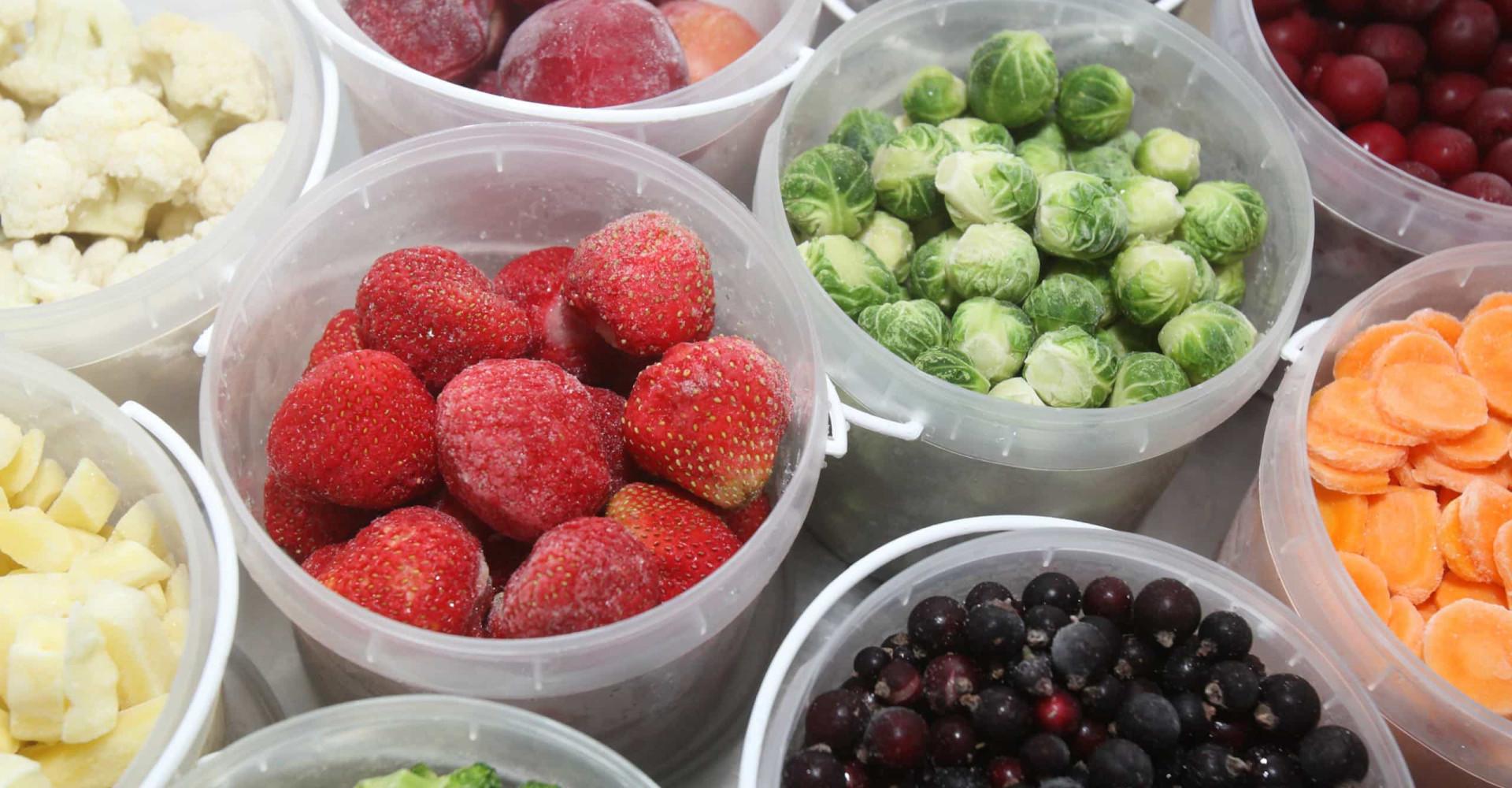 Het verschil tussen diepvriesfruit en vers fruit