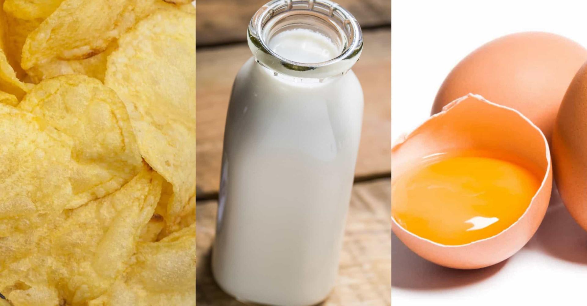 Alimentos que você pode congelar e talvez você não sabia!