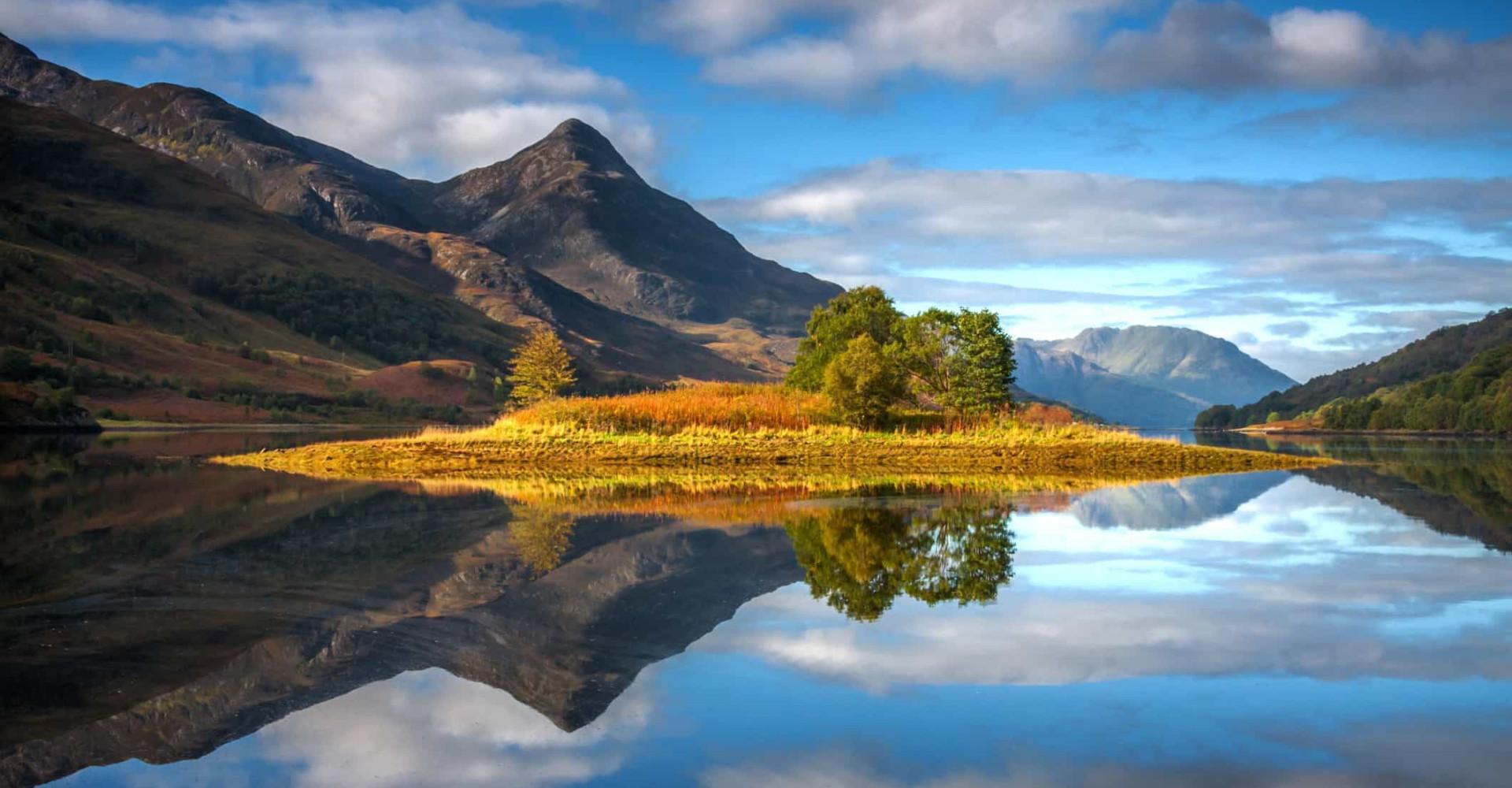 Skottlands beste innsjøer for Instagram
