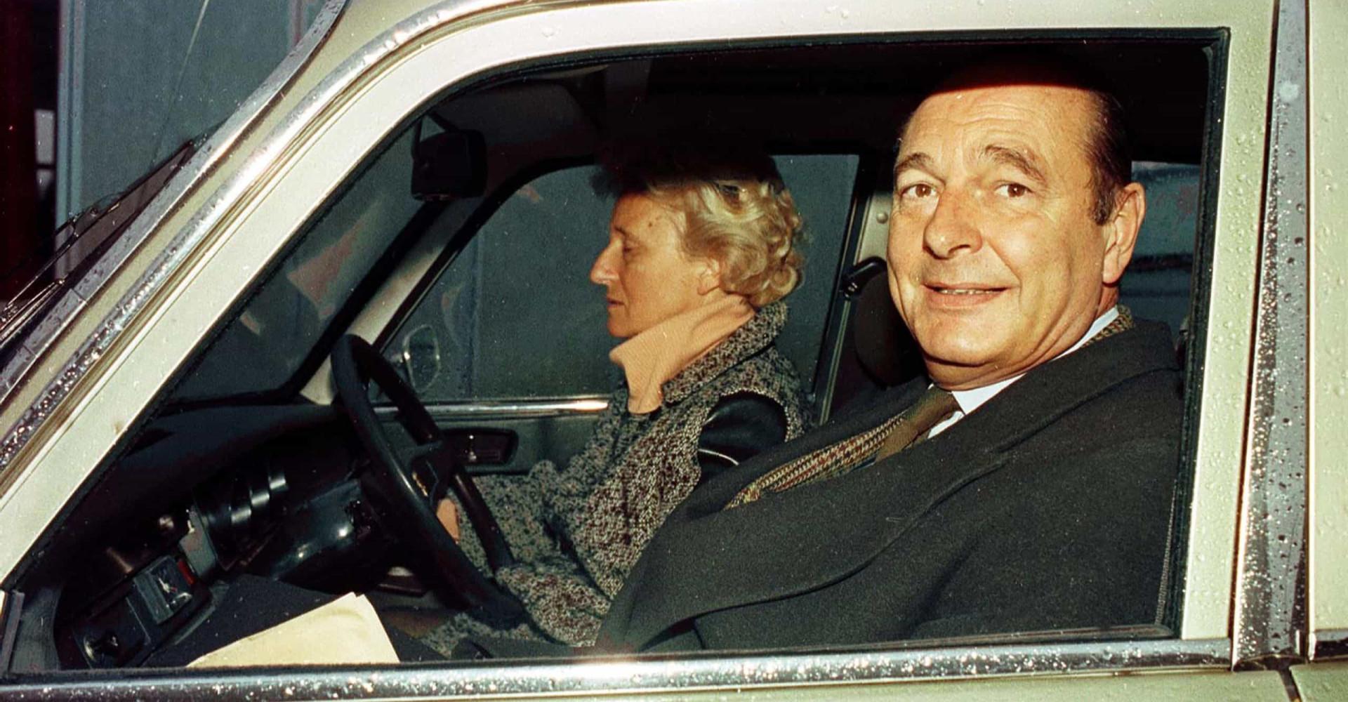 Jacques Chirac: le séducteur infatigable