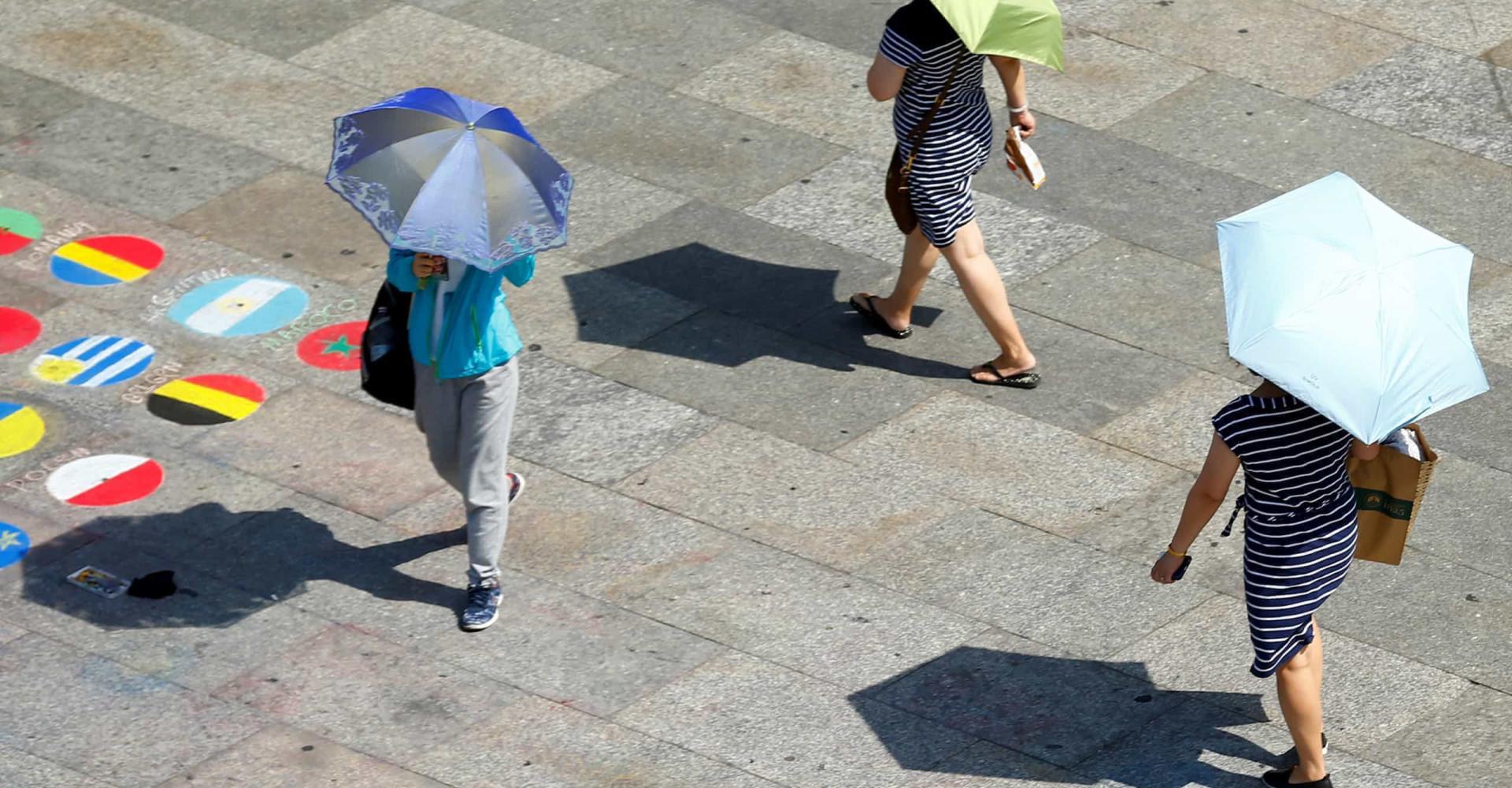 Europa smälter bort i en ny värmebölja