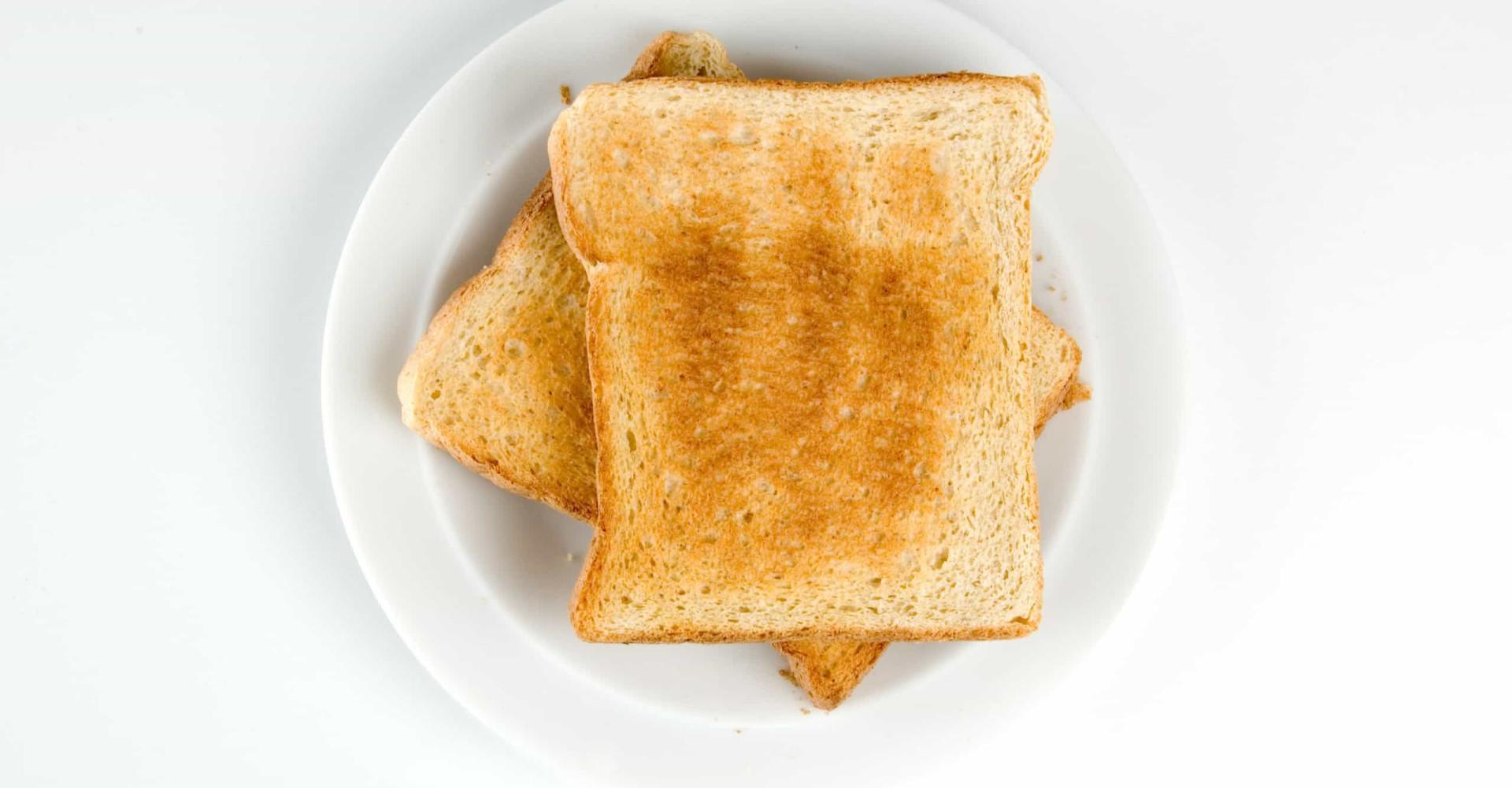 Is geroosterd brood gezonder dan gewoon brood?