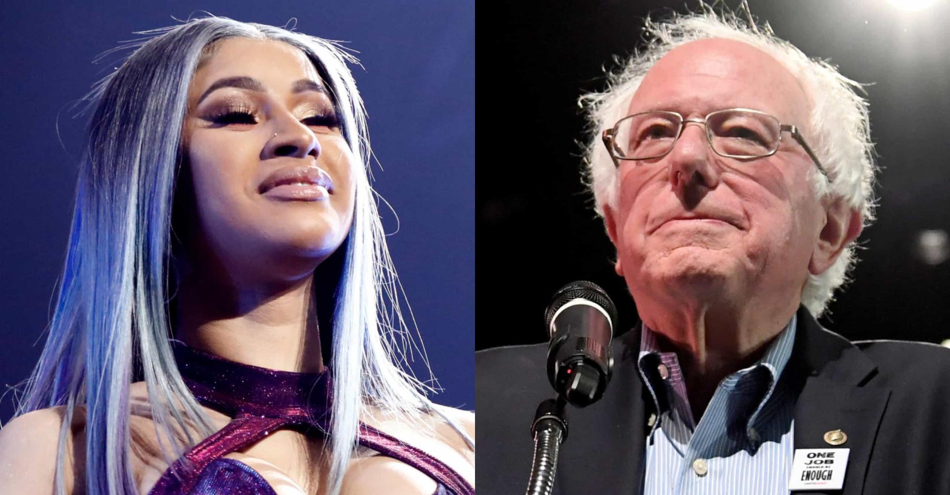 Tiesitkö, että Cardi B on Bernie Sandersin kaveri? Tutustu poliitikkojen yllättäviin julkkisystäviin