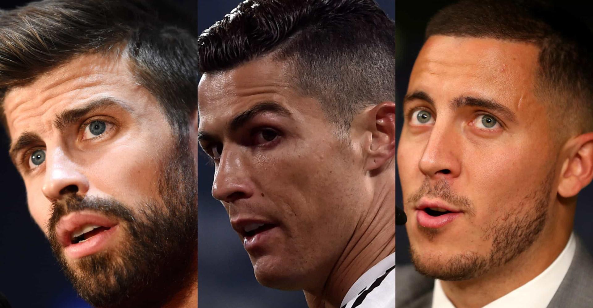 Die heißesten Fußballspieler der Saison 2019/2020