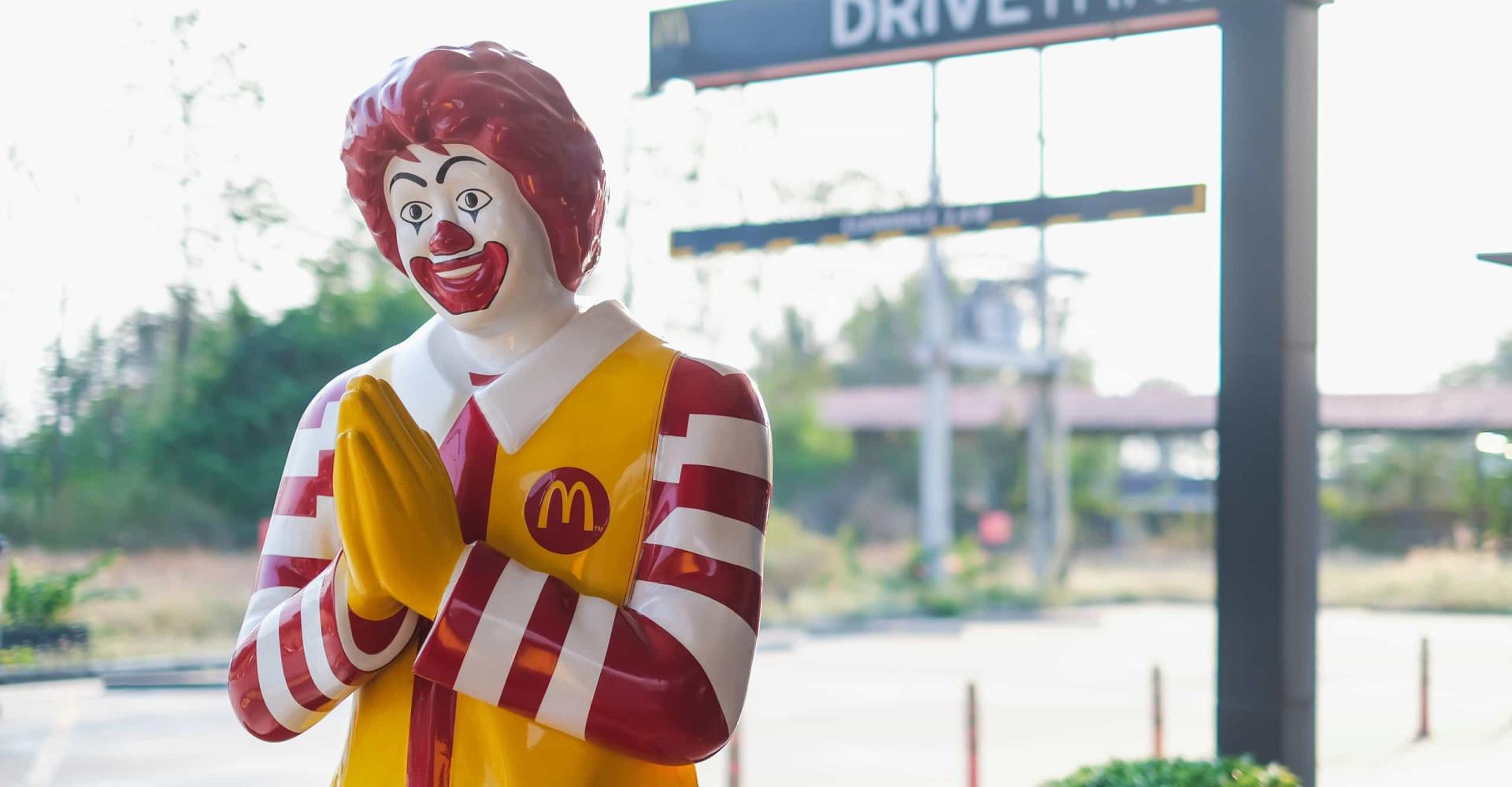 Oeps: Japanse McDonald's maakt designblunder